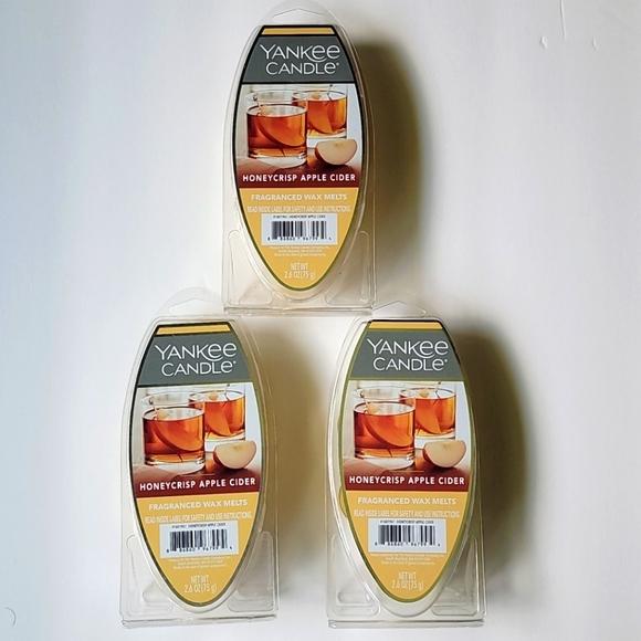 Yankee Candles Wax Melts set of 3